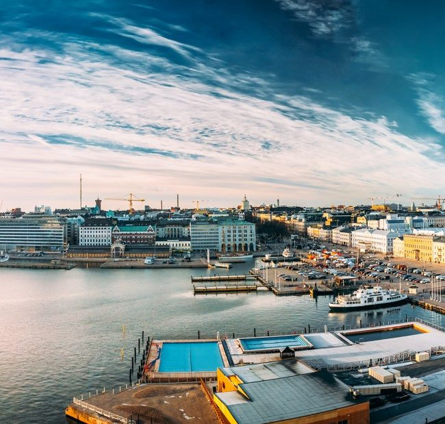 Helsinki with Incoming Finland